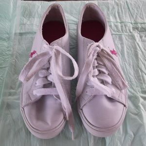 polo size 5 sneakers white unisex